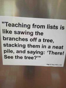Zitat Teaching