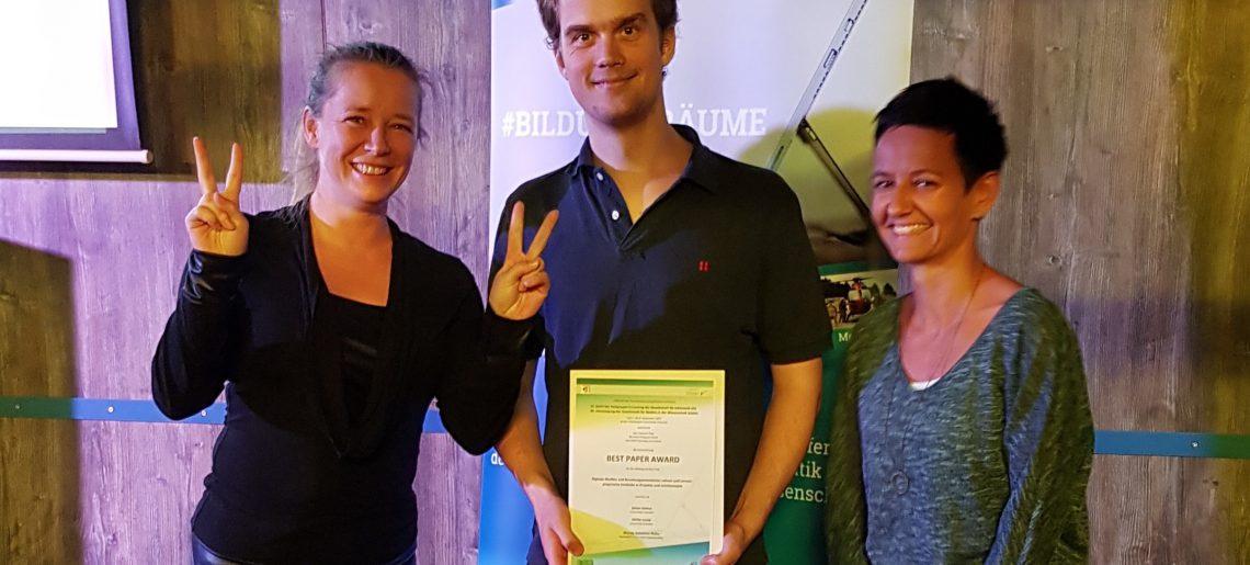 Best Paper Award für FideS-Studie